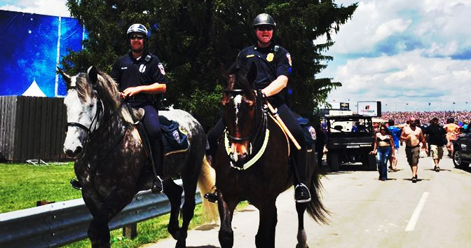Indy 500 and Mounted Patrol