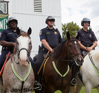 IMPD Mounted Unit Officers