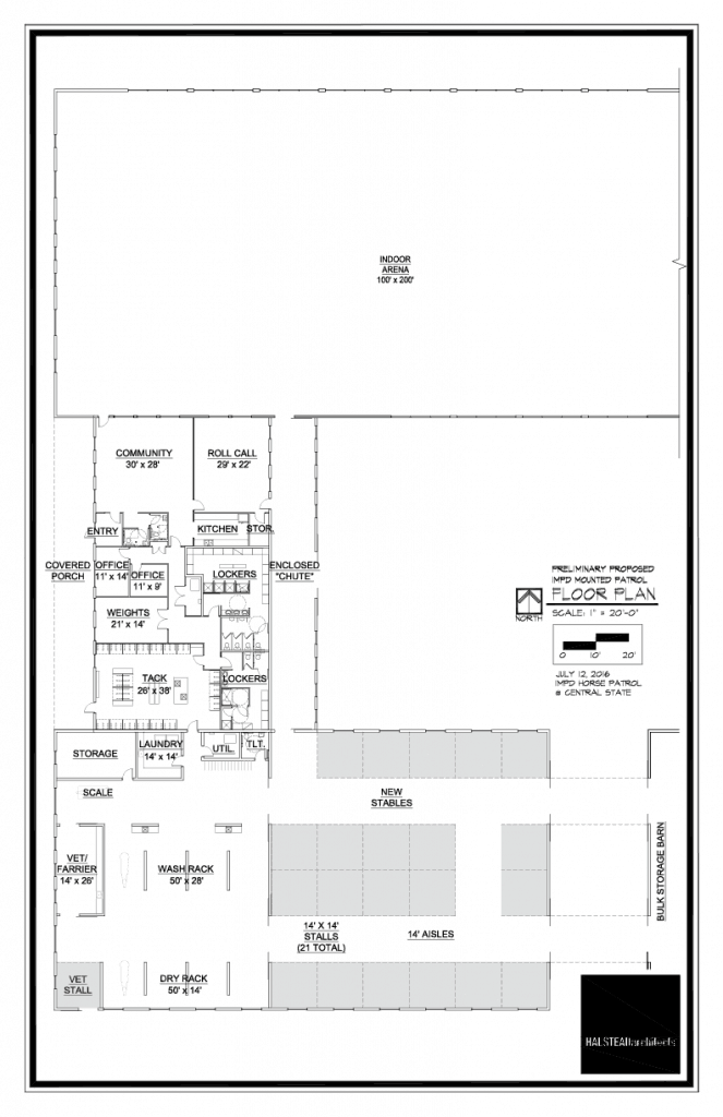 Proposed Facility Floor Plans