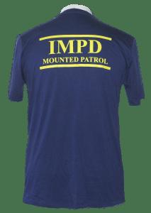 Blended IMPD Shirt Back