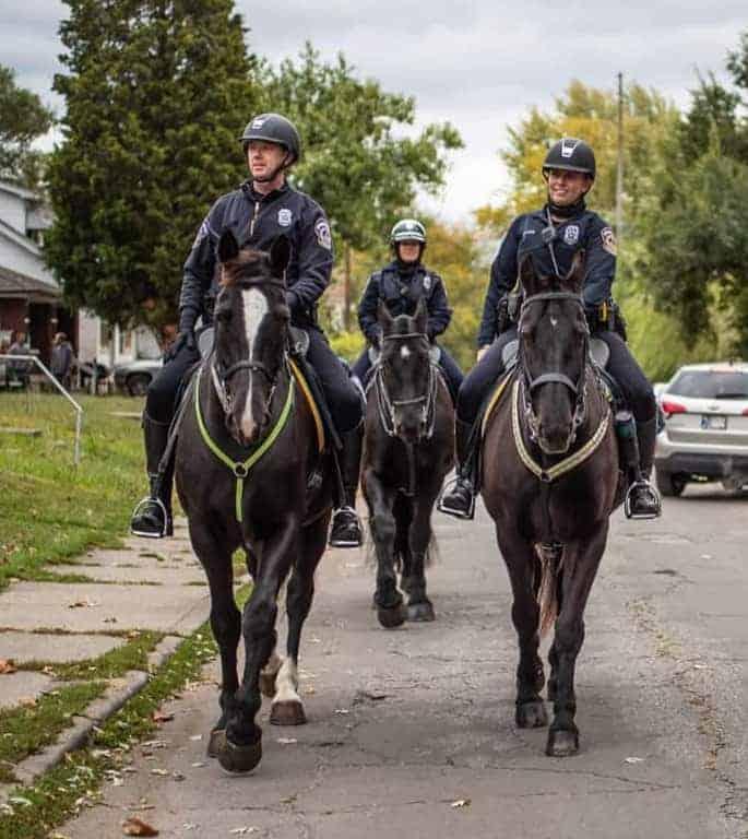 Unit on Patrol